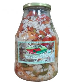 Bulgarian Turshia Mixed Pickled Vegetables