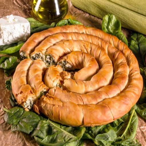 Banitsa Cheese and Spinach