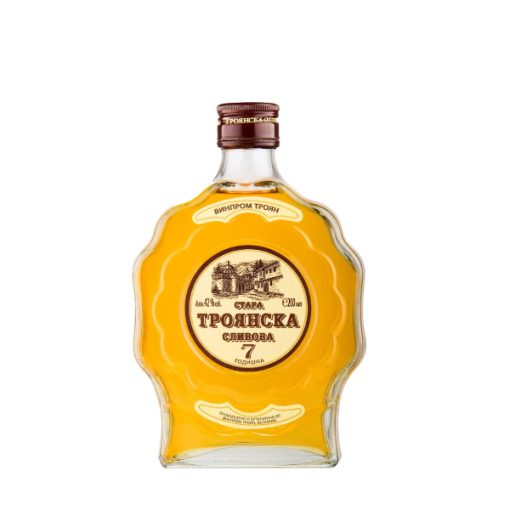 Troyanska Slivova Plum Rakia 7 Years Old