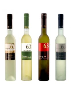 Burgas 63 Sampler Set of 4