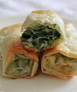 Banitsa Mini Rolls Cheese and Spinach