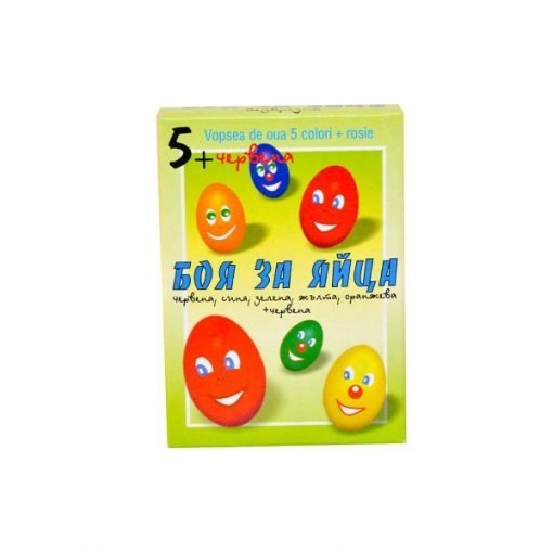 Easter Egg Dye Coloring Kit (5 Colors + Red)
